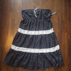 New w/ Tags New York & Co. Polka Dot Dress
